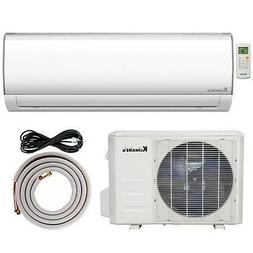 1 Ton 12,000 Btu Inverter Ductless Split Air Conditioner Hea