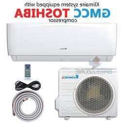 12000 BTU 16 SEER Ductless Mini Split Air Conditioner Heat P