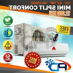 12000 BTU Mini Split  System Ductless AC 15Seer Heat Pump 22