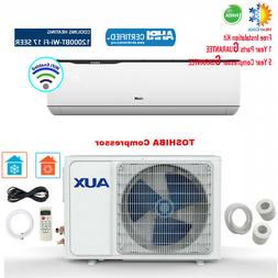 12000 BTU Ductless MINI Split Air Conditioner with Heat Pump