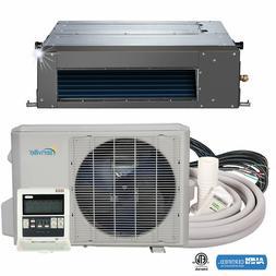 9000 BTU Concealed Duct Mini Split Air Conditioner and Heat