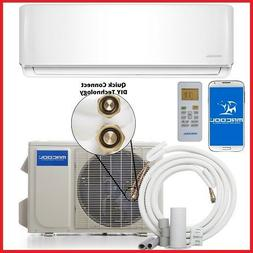 18000 BTU DUCTLESS MINI SPLIT HEAT PUMP DO IT YOURSELF WIFI
