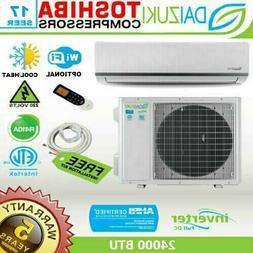24000 BTU Air Conditioner Mini Split 18 SEER INVERTER AC Duc