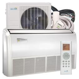 Senville 24000 BTU Ceiling Mount Air Conditioner with Mini S