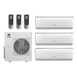 27,000 Btu 21 Seer Gree Multi Zone Mini Split Heat Pump Syst