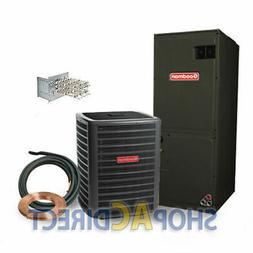3 Ton 14 SEER Goodman Heat Pump Split System GSZ140361 ARUF3