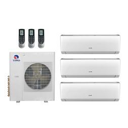 36,000 Btu 21 Seer Gree Multi Zone Mini Split Heat Pump Syst