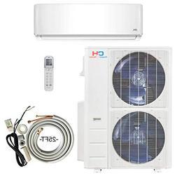 36000 BTU Ductless AC Mini Split Air Conditioner and Heat Pu