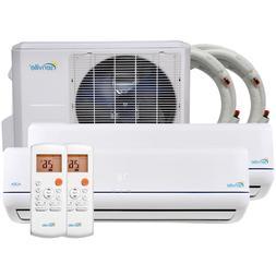 Senville 36000 BTU Mini Split Air Conditioner Multi Zone Duc