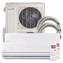 48000 BTU Dual Zone Ductless Mini Split Air Conditioner and