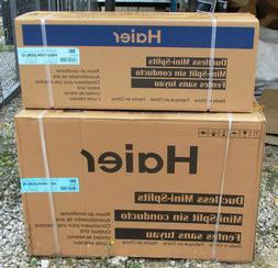 Haier 9,000 BTU 17 SEER Ductless Mini Split Heat Pump Air Co