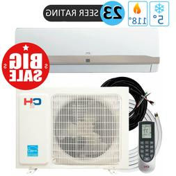 9000 BTU 115V Mini Split Ductless Air Conditioner Heat Pump