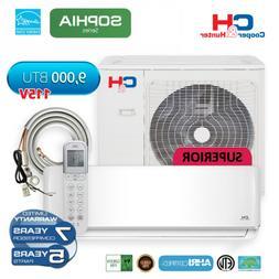 12,000 BTU 115V Mini Split Ductless Air Conditioner WiFi Hea