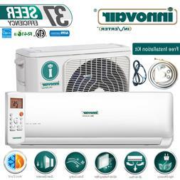 9000 BTU 37.5 SEER Inverter Ductless Mini Split Heat Pump Sy
