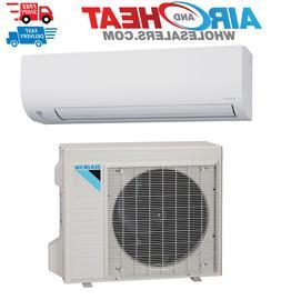 Daikin 9000 BTU Heat Pump Air Conditioner 15 SEER Single Zon