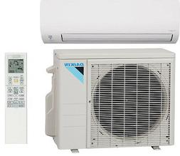 Daikin 9000 BTU Heat Pump Air Conditioner 19 SEER Single Zon