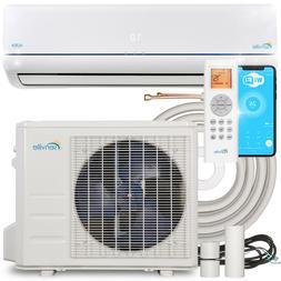 9000 BTU Mini Split Air Conditioner and Ductless Heat Pump -