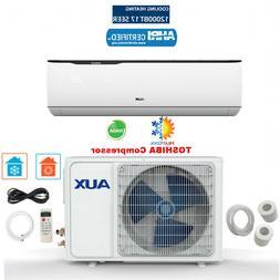 12000 BTU Mini Split Air conditioning, Heat Pump w Installat