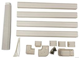 Decorative PVC Line Cover Kit for Mini Split Air Conditioner