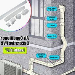 Decorative PVC Line Cover Kit for Mini Split Central Air Con