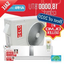 Ductless Mini Split Air Conditioner Heat Pump 15SEER OLMO Sc