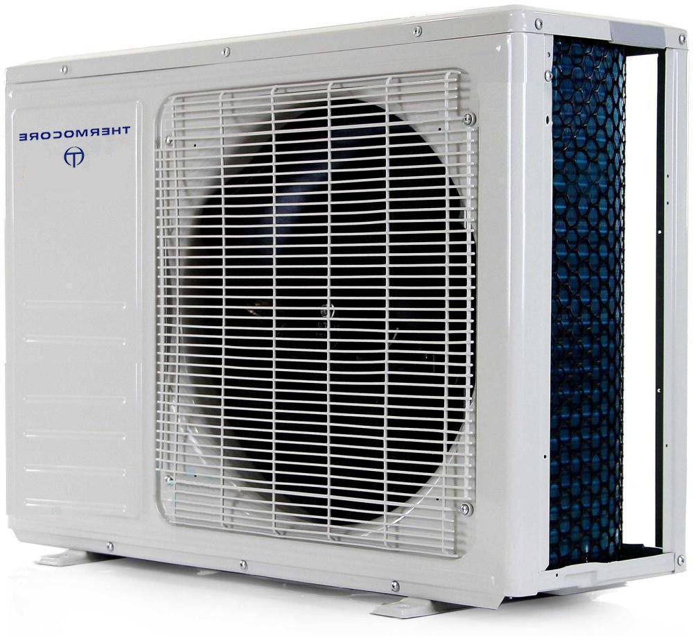 Ductless Mini Split Conditioner Inverter 17-19 install