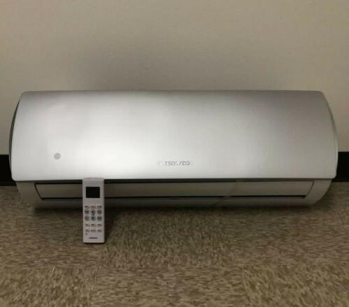 18000 BTU Confort Ductless Heat Pump 220V Whit/kit