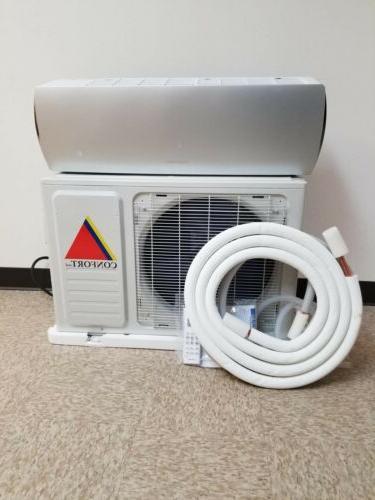 18000 Mini Confort System Heat 220V 1.5Ton Whit/kit