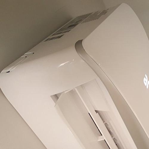 DuctlessAire SEER Mini Split and Heat Speed Inverter Installation