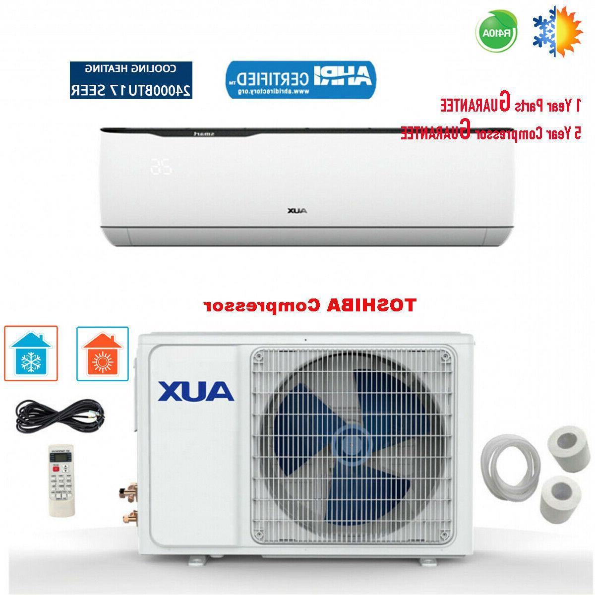 24000btu ductless air conditioner heat pump mini