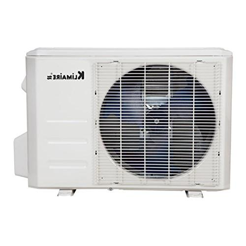 Klimaire Seer Ductless 13'. Installation Kit Air Conditioner System,