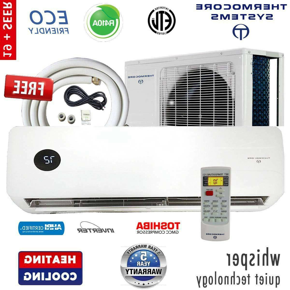 ductless mini split air conditioner inverter heat