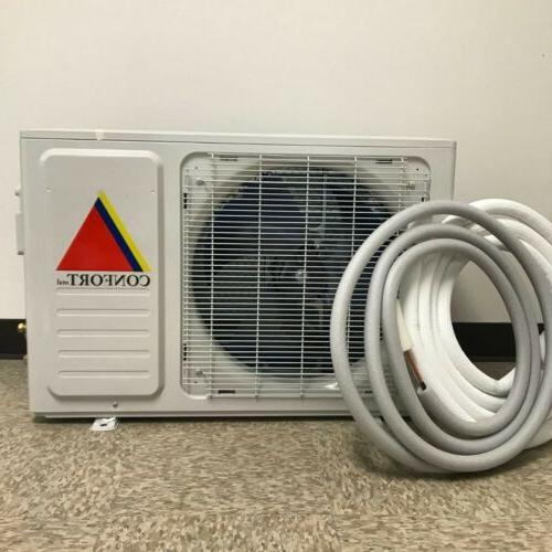12000BTU MINI SPLIT CONFORT SYSTEM AC PUMP 110V
