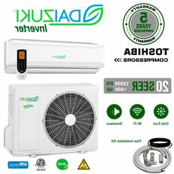 12000 BTU Air Conditioner Mini Split 19 SEER INVERTER AC Duc