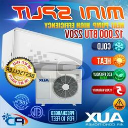 AUX Mini Split 12000 BTU System Ductless AC Heat Pump 220V