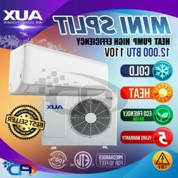 AUX Mini Split 12000 BTU  System Ductless AC Heat Pump 110v
