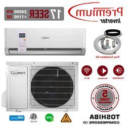 24000 BTU Air Conditioner Mini Split 17 SEER INVERTER AC Duc