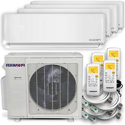PIONEER Air Conditioner Multi Split Heat Pump, Quad