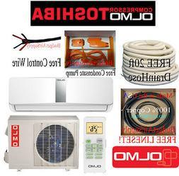 OLMO-TOSHIBA12K btu Ductless15 Seer Mini Split  Heat Pump 11