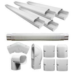 PVC LINE COVER KIT Heat Pumps And Mini Split Air Conditioner