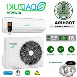 12000 BTU Air Conditioner Mini Split 20 SEER INVERTER AC Duc